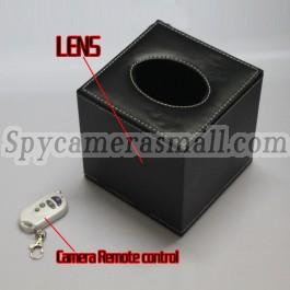 Camera espion bo te mouchoirs en papier hd st nop dvr 720p 16g les tops camera espion rouleau - Camera espion salle de bain ...