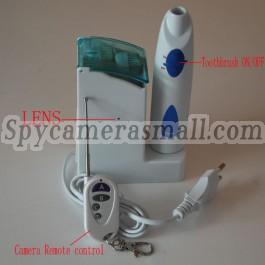Camera d 39 espionnage brosse a dent 1080p camera d 39 espionnage detection de mouvement 32gb dvr les - Camera espion salle de bain ...