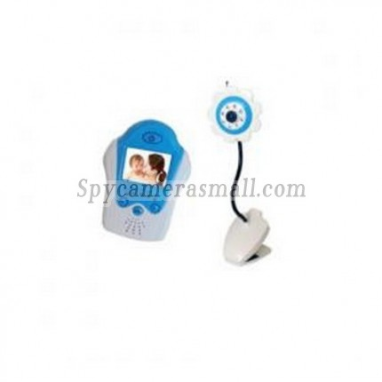 """Wireless Receiver Baby Monitor - 2.4G 1.5""""TFT LCD Four channel Baby Monitor"""