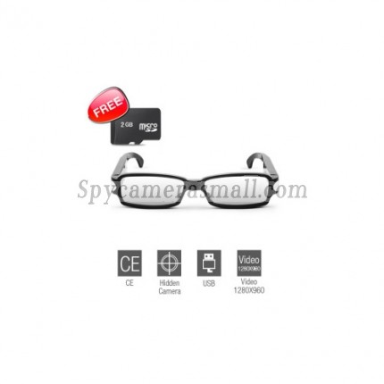 Spy Sunglasses Cam - Vision HD - Spy Sunglasses Camera with Web Camera (Free 2GB Card)
