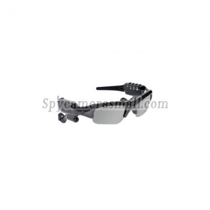 hidden Spy Sunglasses Cameras - Spy Sunglasses Camera with MP3 Player + Bluetooth (8GB)