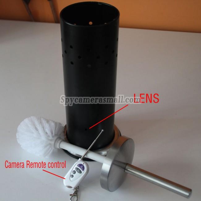 Camera d 39 espionnage brosse de toilettes hd camera d 39 espionnage detection de mouvement 720p 32g - Camera espion salle de bain ...
