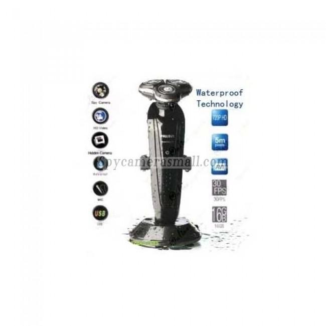 HD Camera d'espionnage etanche salle de bain Camera d'espionnage rasoir DVR 16GB 1280X720