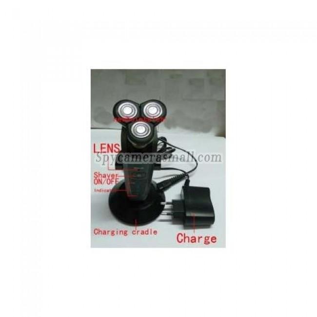Camera d'espionnage rasoir HD DVR Camera d'espionnage etanche salle de bain 32GB 1280x720