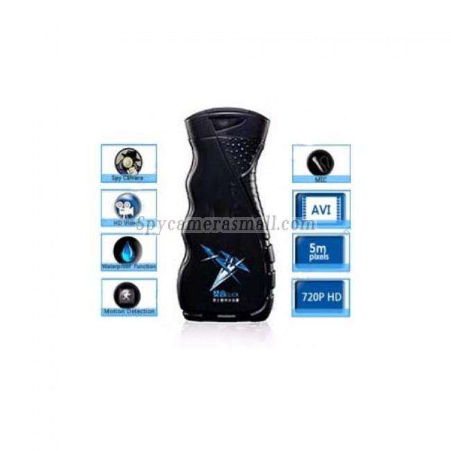 spy cameras in bathrooms - 32GB Men's Shower Gel HD Bathroom Spy Camera 720P DVR with Motion Detection Remote Control