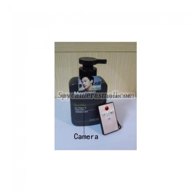 Shower Spy Camera,Motion Detection Men's Face Wash Camera HD 720P Spy Camera DVR 32GB Remote Control