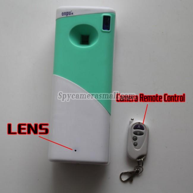 Camera espion Purificateur d'air Detection de mouvement DVR 32G HD 1080P