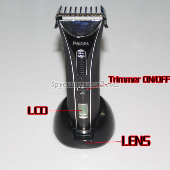 Camera d'espionnage Tondeuse Camera 32G d'espionnage etanche salle de bain 720P DVR