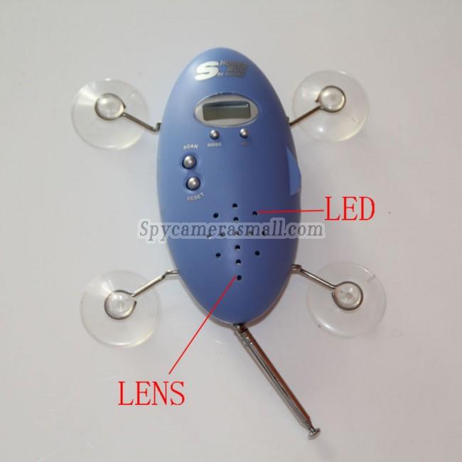 Camera d'espionnage radio de douche 32G Camera d'espionnage Detection de mouvement 1080P Camera d'espionnage etanche salle de bain