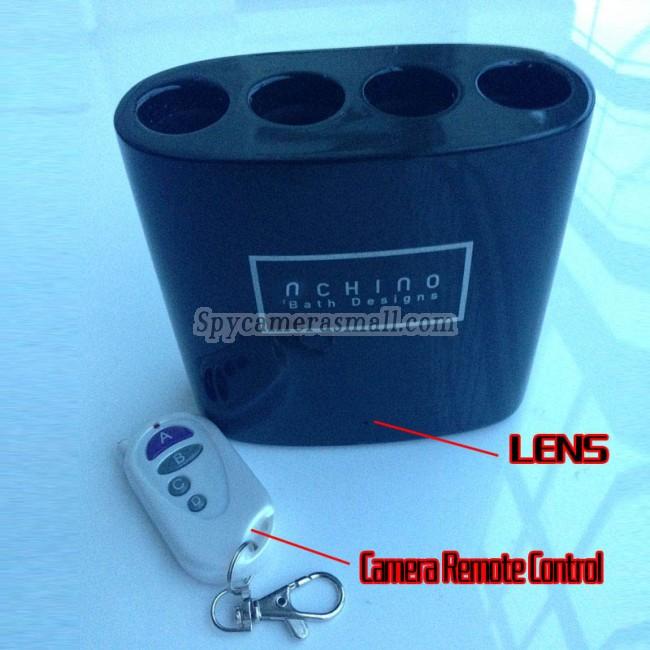 micro espion miniature Porte-brosses à dents 16G 1080P Camera espion avec detecteur de mouvement Les tops camera embarquée