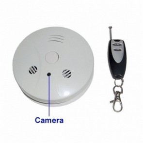 Spy Camera Smoke Detector Spy DVR - Spy Camera Smoke Detector 4GB Spy DVR with Remote Control Hidden Camera DVR