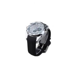 HD hidden Spy Watch Camera - IR Night Vision Waterproof  Wristwatch Camera with 8GB