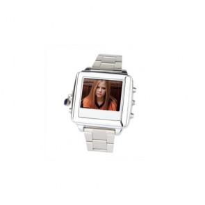Spy Watch Cameras recoder - Spy Watch with 1.5 Inch LCD Screen (2GB, Silver)