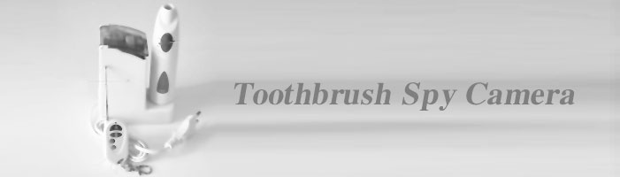Bathroom Spy Camera toothbrush
